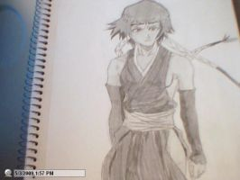 drawing of soi fon by StaticFOOL100