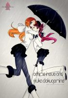 riruka and inoue bleach 451 by coralsnowcandy
