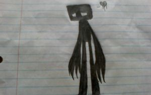sad enderman by eyelessjack117