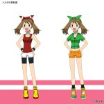 PKMN V - May Summer Casual Outfit Designs by Blue90