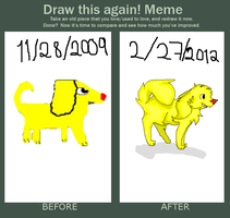 Draw this again meme by xMarrux