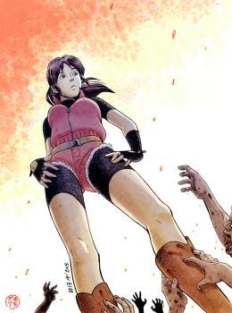 Resident Evil Tribute to Claire Redfield by senseidani