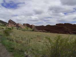 Red Rocks Stock 4 by chamberstock