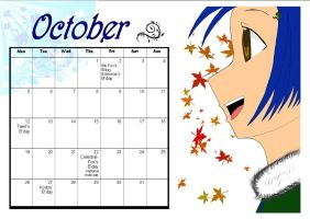 MT Calender: October by Manga-Tutorials