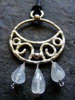 Moonstone Blessing Moon by MoonLitCreations