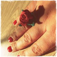Ring on my Finger ... by MadeByHand