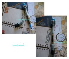 10th Doctor's Sonic Screwdriver Pen by RainbowDropDreams