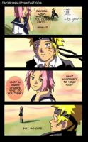 NaruSaku - Michi to you by taichikun14