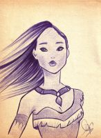 .::Pocahontas::. by The-Pen-Freak