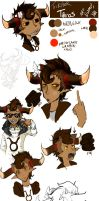 tRICKSTER tAVROS ART DUMP/cHARACTER sKETCH by The--Summoner
