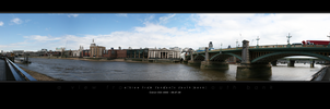 View from London's South Bank by Tyrant-Designs