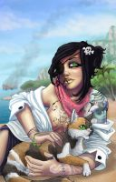 Beaches n' Cats, Ships n' Tats by oGuttermoutho