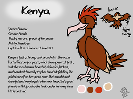 Kenya Reference Sheet by DragonwolfRooke
