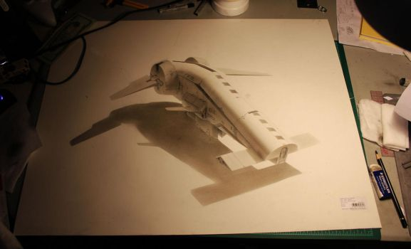 hand drawing by ProgV
