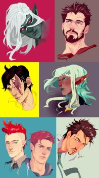 busts no.1 by paexiedust