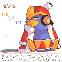 King Dedede Oekaki by StarrBerry