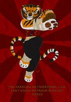 Tigress Poster by lupinemoonfeather