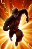 CW's The Flash by drawerofdrawings