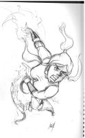 Legend of Korra - Pencils by mattcrossley