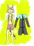 Cal wants his jacket back! (Pattern ref) by ezioauditore97