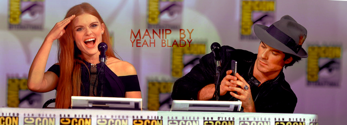 Holland Roden and Ian Somerhalder 3 by Yeah-Blady