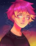 Don't cry, Luciel by a-i--d-e-n