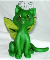 Emerald, a Flitter Kitty by clay-dreams