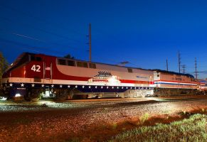 amtrak 42 and amtrak 406 on the capitol 2 by wolvesone