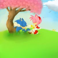 The Cherry Blossom Tree -2nd prize by Miiukka