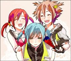 KH - TRIO by ihirotang