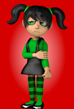 Mary five nights at candy's 3 by NathanzicaOficial