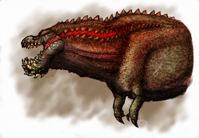 Deviljho by TheMeekWarrior
