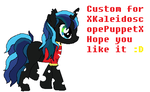 Custom For Xkaleidoscopepuppetx by abbybshorse