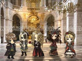 Chibi Versailles by lourne