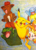 Pokemon party yay by Reikma