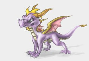 Spyro the Dragon by PrecosiousChild