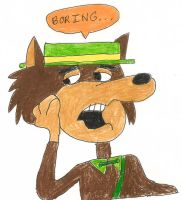 Mildew Wolf is bored by dth1971