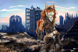 The Scavenger by Mieyth-Wolftear