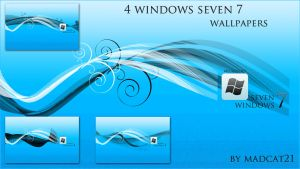 windows 7 wallpapers by coolcat21