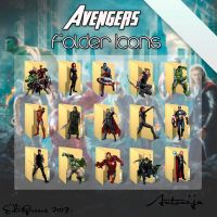 Movie Folder Icons - Avengers by EditQeens