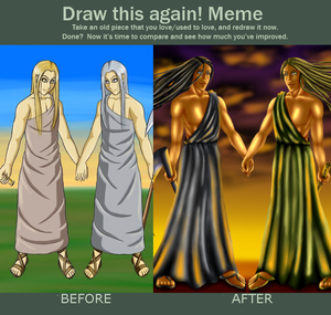 Before and After Meme