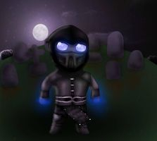 Mini Saibot :3 by PrincessNetherrealm