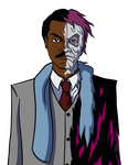 Billy Dee Two-Face Take 3 by AraghenXD