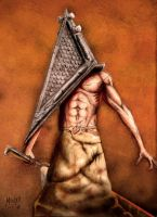 Pyramid Head by monx-art