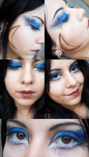 nyx inspired make-up