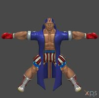 Boxer-Balrog (Prize Fighter) by DragonLord720