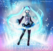 Hatsune Miku for ANN by zeldacw