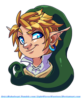 SS: Elf Face by Bahnloopi