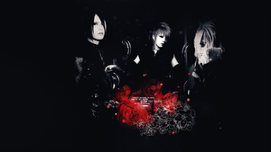 Reita, Ruki, and Uruha Wallpaper by ParanoiaGod69