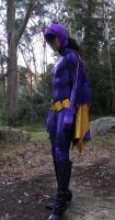66 Batgirl Cosplay - In the Woods by ozbattlechick